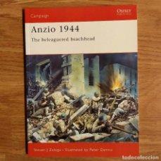 Militaria: WW2 - OSPREY - ANZIO 1944 - CAMPAIGN. Lote 98989779
