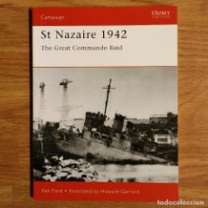Militaria: WW2 - OSPREY - ST NAZAIRE 1942 - CAMPAIGN. Lote 98996551