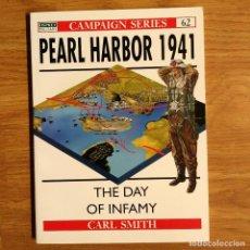Militaria: WW2 - OSPREY - PEARL HARBOR 1941 - CAMPAIGN. Lote 98997891