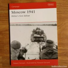 Militaria: WW2 - OSPREY - MOSCOW 1941 - CAMPAIGN. Lote 98997907