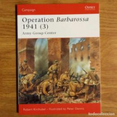 Militaria: WW2 - OSPREY - OPERATION BARBAROSSA 1941 (3) - CAMPAIGN. Lote 98997971