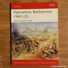 Militaria: WW2 - OSPREY - OPERATION BARBAROSSA 1941 (2) - CAMPAIGN. Lote 98997983