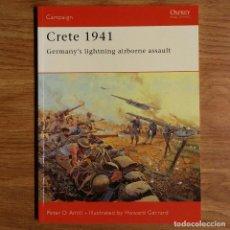 Militaria: WW2 - OSPREY - CRETE 1941 - CAMPAIGN. Lote 98998019
