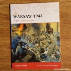 Militaria: WW2 - OSPREY - WARSAW 1944 - CAMPAIGN. Lote 99007603