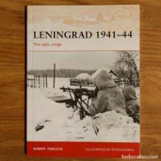 Militaria: WW2 - OSPREY - LENINGRAD 1941-44 - CAMPAIGN. Lote 99008039