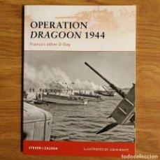 Militaria: WW2 - OSPREY - OPERATION DRAGOON 1944 - CAMPAIGN. Lote 99012079