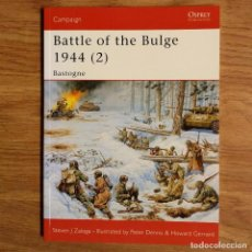 Militaria: WW2 - OSPREY - BATTLE OF THE BULGE 1944 (2) - CAMPAIGN. Lote 99018611