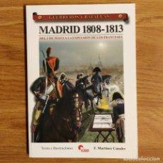 Militaria: GUERREROS Y BATALLAS - Nº 44 - MADRID 1808-1813 - ALMENA. Lote 99138879