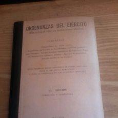 Militaria: ORDENANZAS DEL EJÉRCITO DE 1939. Lote 99355626