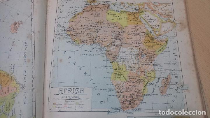 Militaria: Antiguo atlas, creo que de la segunda guerra mundial o esa época. - Foto 5 - 99909923