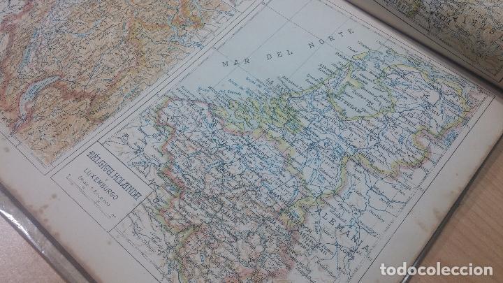 Militaria: Antiguo atlas, creo que de la segunda guerra mundial o esa época. - Foto 6 - 99909923