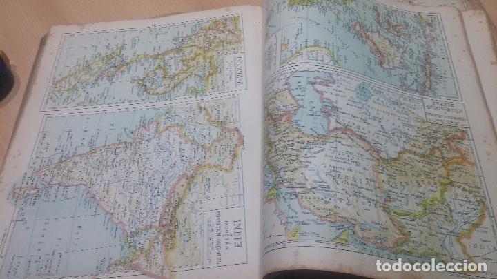 Militaria: Antiguo atlas, creo que de la segunda guerra mundial o esa época. - Foto 7 - 99909923