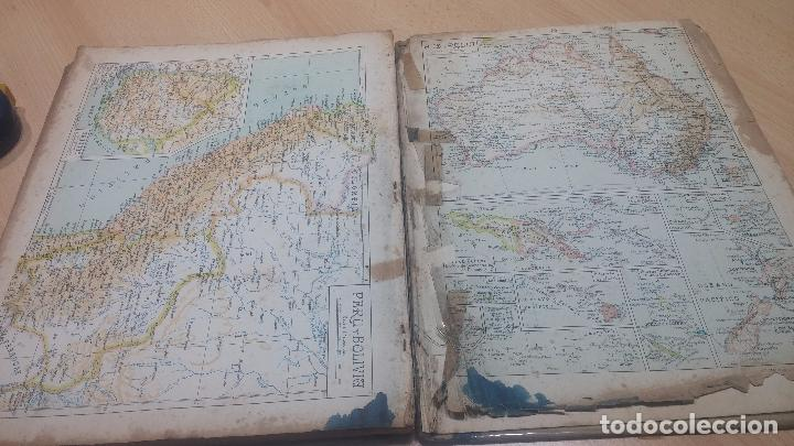 Militaria: Antiguo atlas, creo que de la segunda guerra mundial o esa época. - Foto 8 - 99909923