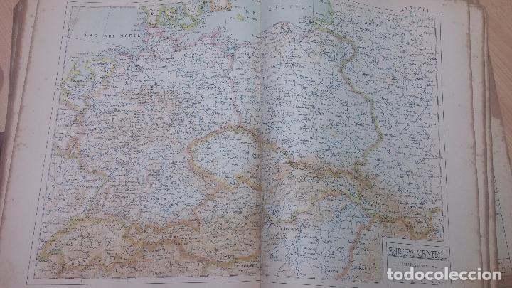 Militaria: Antiguo atlas, creo que de la segunda guerra mundial o esa época. - Foto 10 - 99909923