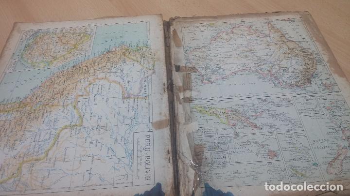 Militaria: Antiguo atlas, creo que de la segunda guerra mundial o esa época. - Foto 11 - 99909923