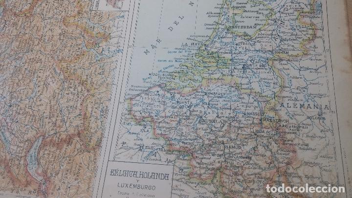Militaria: Antiguo atlas, creo que de la segunda guerra mundial o esa época. - Foto 14 - 99909923
