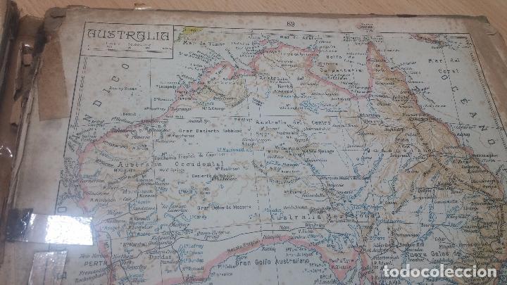 Militaria: Antiguo atlas, creo que de la segunda guerra mundial o esa época. - Foto 16 - 99909923