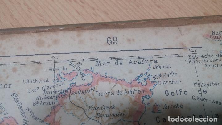 Militaria: Antiguo atlas, creo que de la segunda guerra mundial o esa época. - Foto 17 - 99909923