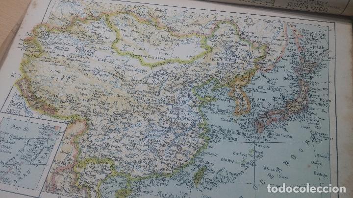 Militaria: Antiguo atlas, creo que de la segunda guerra mundial o esa época. - Foto 19 - 99909923