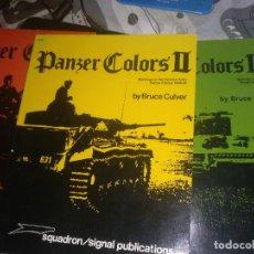 Militaria: PANZER COLOURS. Lote 100124151