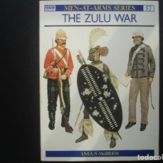 Militaria: OSPREY. THE ZULU WAR. (SERIE MEN AT ARMS Nº 57). Lote 100422391