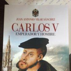Militaria: CARLOS V. EMPERADOR Y HOMBRE. EDAF. Lote 100588884