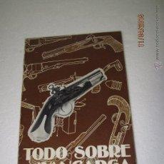 Militaria: LIBRO TODO SOBRE AVANCARGA, 1ª EDICION AÑO 1980,MUY RARO,PISTOLA-REVOLVER-MUNICION-ARMAS,POLVORA. Lote 100758503