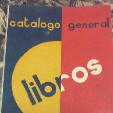 Militaria: GUERRA CIVIL RARO CATALOGO REPUBLICANO DE LA SOCIEDAD GENERAL ESPAÑOLA DE LIBRERIA.. Lote 100927615