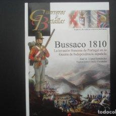 Militaria: BUSSACO 1810. GUERREROS Y BATALLAS. EDITORIAL ALMENA. Lote 101123683