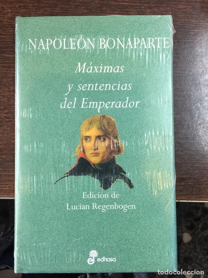 NAPOLEÓN BONAPARTE. MÁXIMAS Y SENTENCIAD DEL EMPERADOR (Militar - Libros y Literatura Militar)