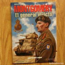 Militaria: AF EDITORES - N.º 11 MONTGOMERY EL GENERAL INVICTO - ALCAÑIZ FRESNO. Lote 101288071