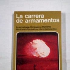 Militaria: LA CARRERA DE ARMAMENTOS.- LA ESTRATEGIA. CONCEPTOS. HOMBRES. DOCTRINAS. DISPOSITIVOS... TDK44. Lote 101564463