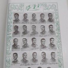 Militaria: PROMOCIÓN XVIII MILITARES 1946 - 1950. LIBRO OFICIAL RANGOS MILITARES CON LISTADO Y FOTOS. GRANDE.TO. Lote 101616559