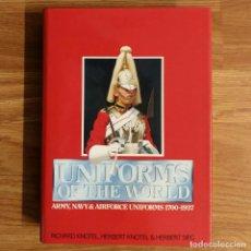 Militaria: UNIFORMS OF THE WORLD 1700-1937 - UNIFORMES MILITARES DEL MUNDO. Lote 102011423