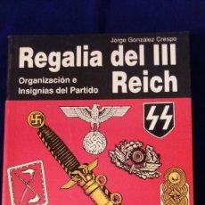 Militaria: LIBRO REGALIA DEL III REICH, Nº 2. Lote 103178111