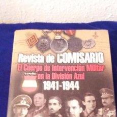 Militaria: LIBRO DIVISION AZUL REVISTA DE COMISARIO. Lote 103178323