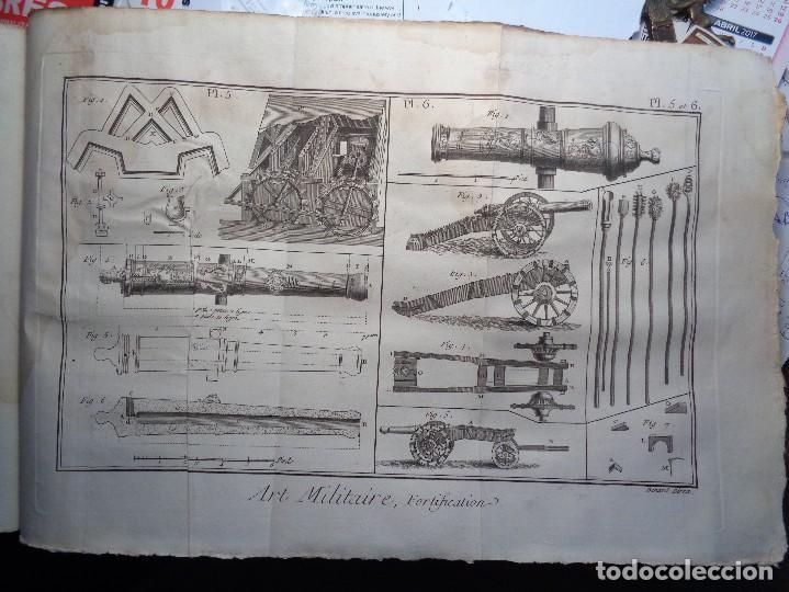 Militaria: RECUEIL DE PLANCHES SUR LES SCIENCES,LES ARTS LIBERAUX,ET LES ARTS MECANIQUES.- - Foto 9 - 103346691
