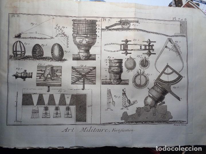 Militaria: RECUEIL DE PLANCHES SUR LES SCIENCES,LES ARTS LIBERAUX,ET LES ARTS MECANIQUES.- - Foto 11 - 103346691