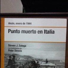 Militaria - Anzio 1944. punto muerto en italia. osprey segunda guerra mundial - 103420123
