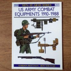 Militaria: WW2 - OSPREY - US ARMY COMBAT EQUIPMENTS 1910-88. Lote 103480707