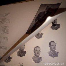 Militaria: LIBRO XI PROMOCIÓN DE LA ACADEMIA GENERAL MILITAR. 1952-1953. ZARAGOZA. Lote 103520327