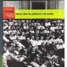 Militaria: NO-DO. EL FRANQUISMO AÑO A AÑO. Nº 3 1943 & DVD. Lote 103594871
