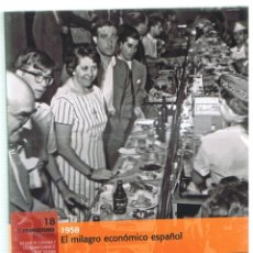 Militaria: NO-DO. EL FRANQUISMO AÑO A AÑO. Nº 18 1958 & DVD. Lote 103595231