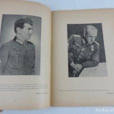 Militaria: LIBRO CONMEMORACION HEROICA. DIVISION AZUL. EDICION ORIGINAL DE 1943. RECUERDO DE LA FUERZAS ARMADAS. Lote 103672395