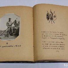 Militaria: LIBRO DE POESIA LEGIONARIA. CON DEDICATORIA MANUSCRITA DEL AUTOR EN 1940, INCLUYE FOTOGRAFIA DE TENI. Lote 103674299