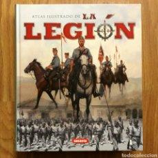 Militaria: ATLAS ILUSTRADO DE LA LEGIÓN - SUSAETA. Lote 103854611
