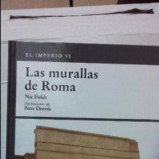 Militaria: LAS MURALLAS DE ROMA. OSPREY GRECIA Y ROMA. Lote 104177731
