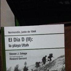 Militaria: EL DIA D. LA PLAYA DE UTAH. OSPREY SEGUNDA GUERRA MUNDIAL. Lote 104289531