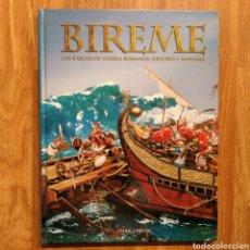 Militaria: BIREME - BARCOS DE GUERRA ROMANOS - HISTORIA Y DIORAMA - SOLDADOS DE PLOMO - FIGURAS MILITARES. Lote 104294082