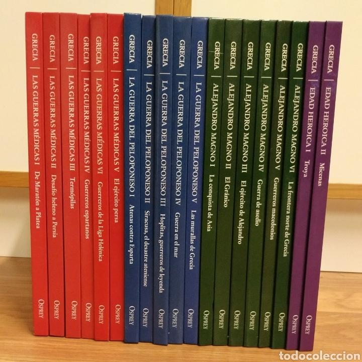 OSPREY - GRECIA ANTIGUEDAD - COLECCION COMPLETA (Militar - Libros y Literatura Militar)